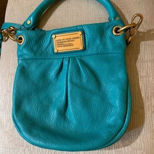 Marc By Marc Jacobs Bags - Marc by Marc Jacobs Teal leather crossbody